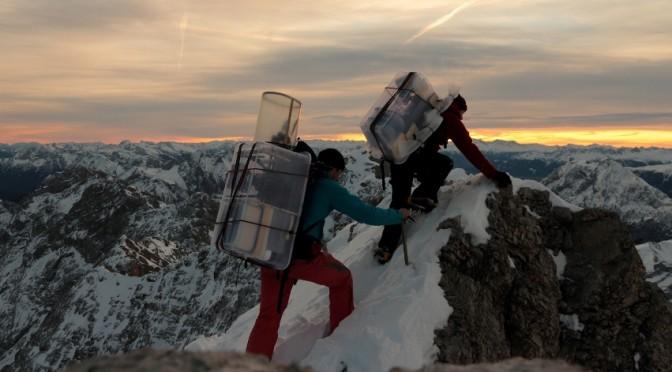 Zugspitze-Alpspitze Jubiläumsgrat im Winter