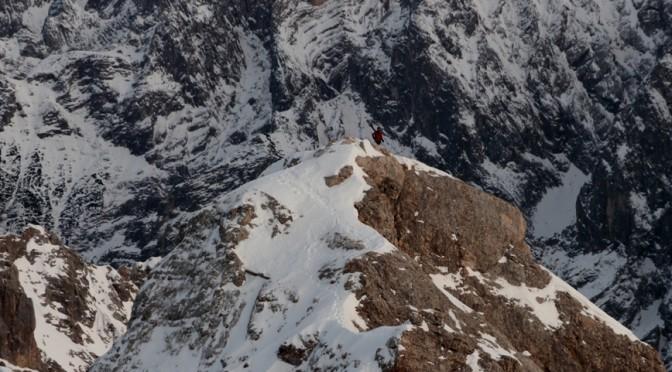Basti Haag bei einem unserer Filmdrehs auf der Zugspitze