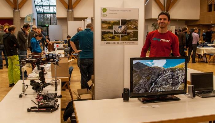 Aerovista präsentiert Luftaufnahmen von DAV Berghütten