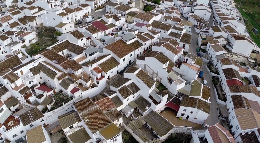 Luftaufnahme Spanien