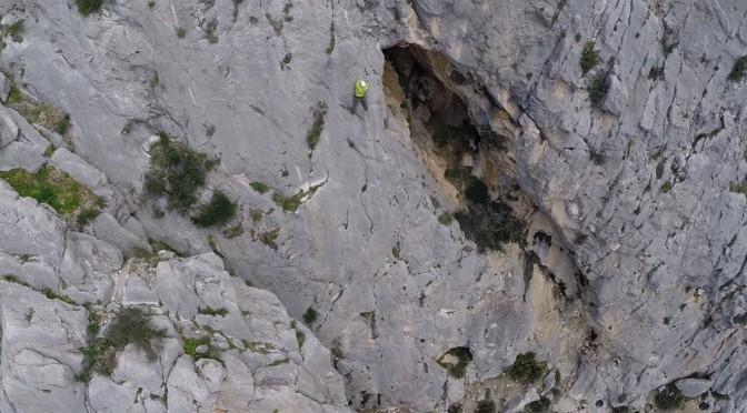 Kletterer in El Chorro