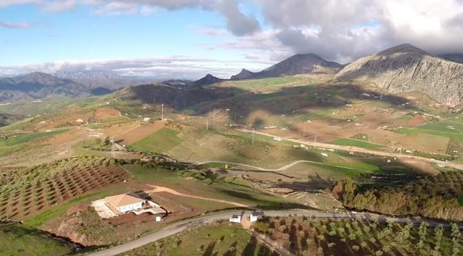 Luftaufnahme Andalusien aus Kameradrohne