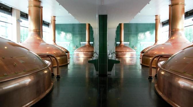 Kesselhaus der Brauerei Spaten in München