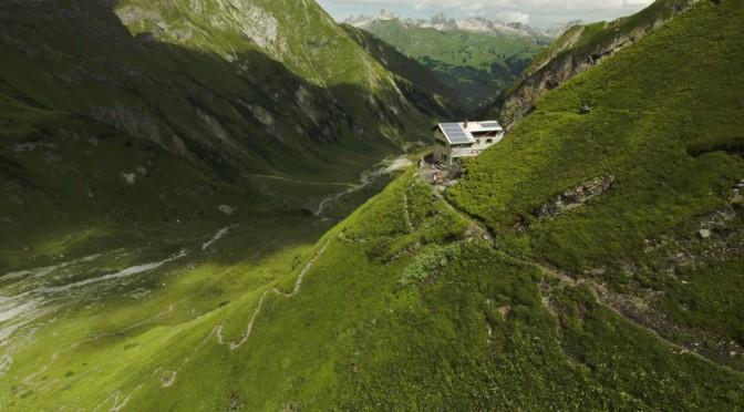 Frederick Simms Hütte in den Lechtaler Alpen