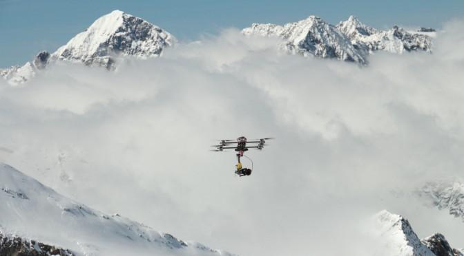 Skitour, Oktokopter, Aerovista, Luftvideo
