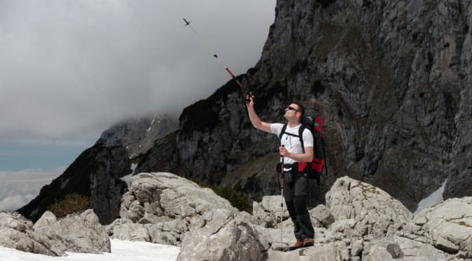 Bergsteigen, Oktokopter, Aerovista, Luftvideo