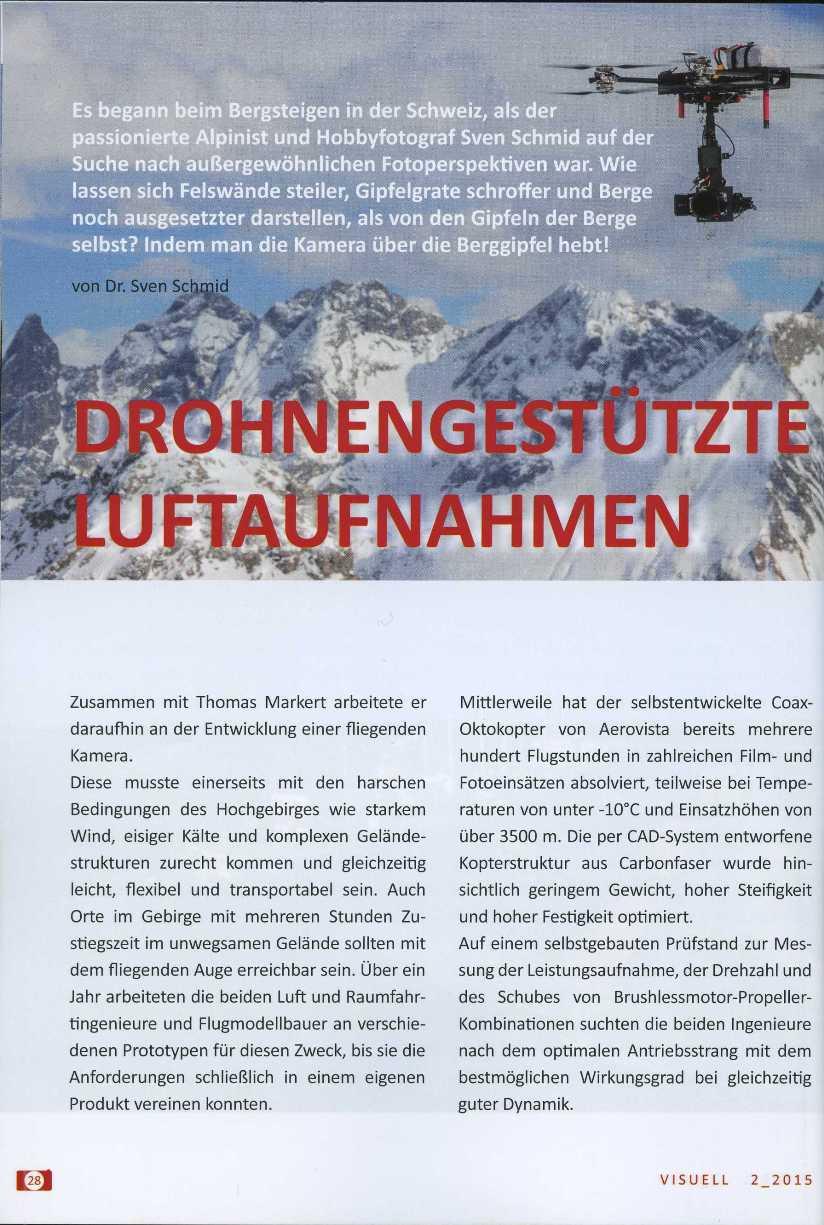 Aerovista Luftaufnahmen München Firmenportrait