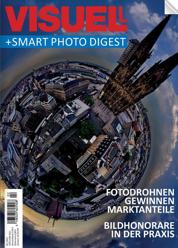 Foto Fachzeitschrift Visuell Luftaufnahmen
