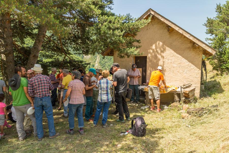 Fest in den Bergen von Draix 2015