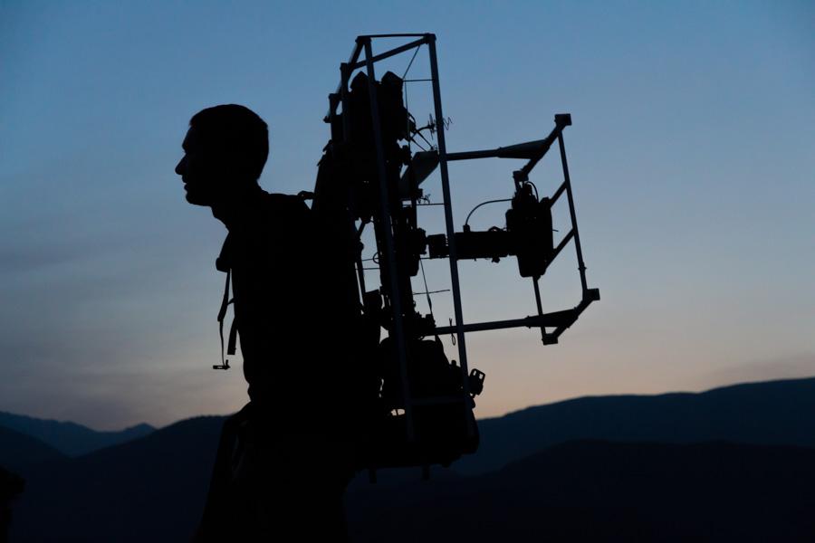 Kamerakopter Rückentrage