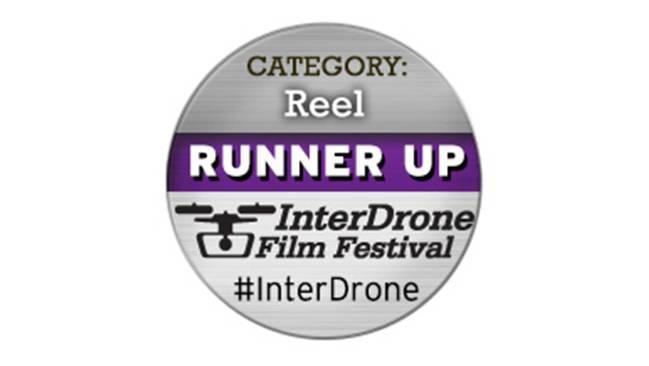 Zweiter Platz beim Inter Drone Film Festival, Las Vegas, 9. - 11. September 2015