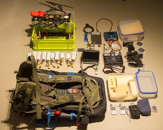 Kamerakopter für alpine Einsätze