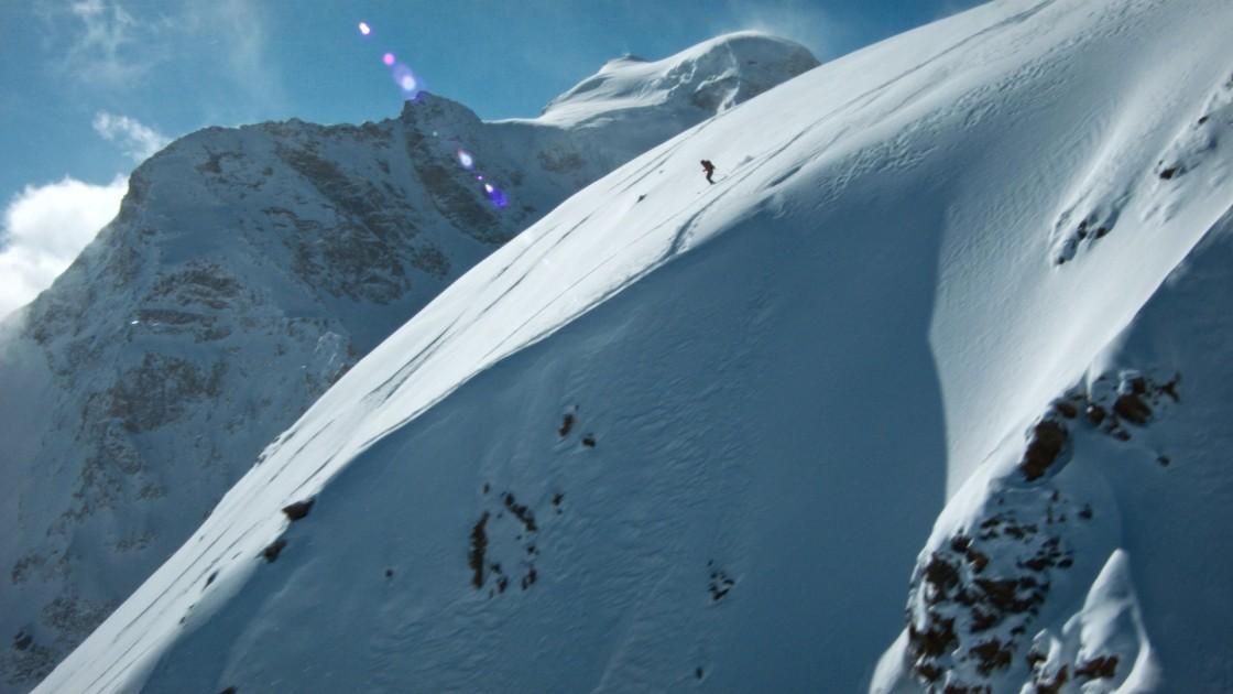 Luftaufnahme von Freerider Engadin (Diavolezza)