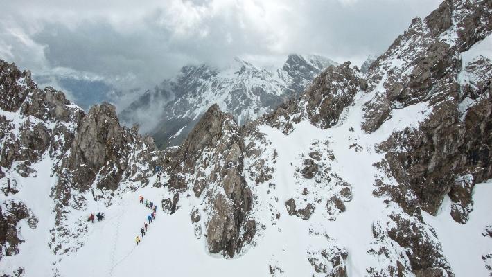 Zu Fuß über die Alpen, ZDF Dokumentation