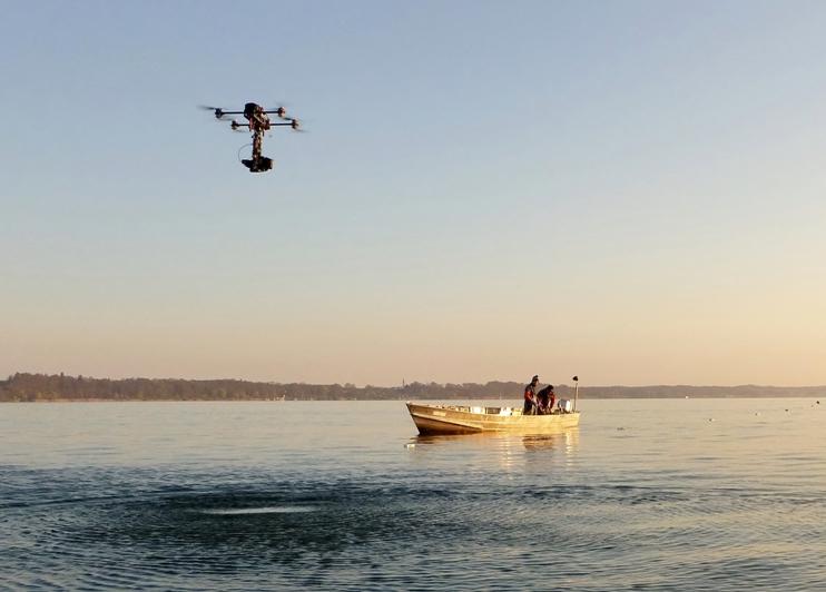 Aerovista Luftaufnahmen München 4K Kamera Drohne