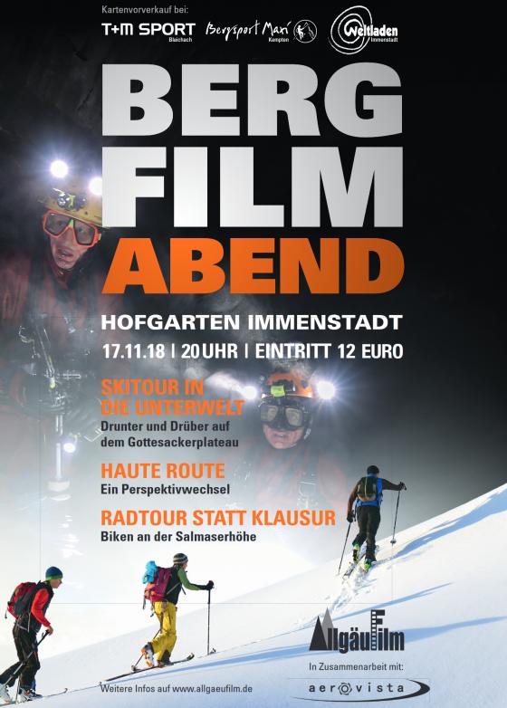 Haute Route Filmvorführung, Immenstadt, Allgäu